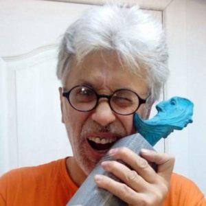trofeo de empresa escultor up juan up