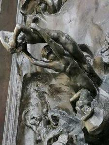 Las puertas del infierno de Rodín