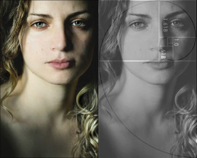 La belleza del rostro femenino